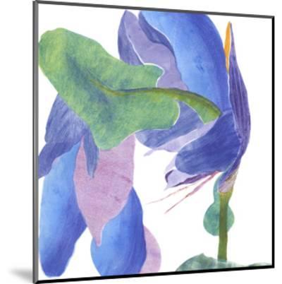 Surprise Indigo II-Carolyn Roth-Mounted Art Print