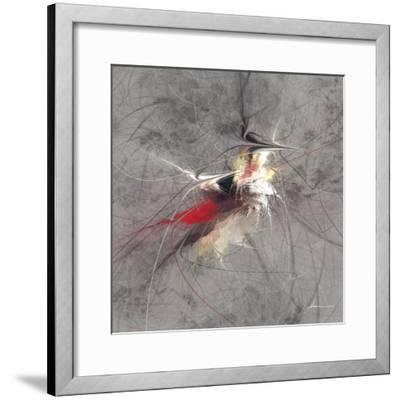Paint Swirl I-James Burghardt-Framed Art Print