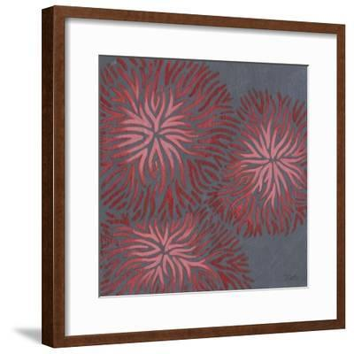 2-Up Dianthus I-Renee W^ Stramel-Framed Art Print
