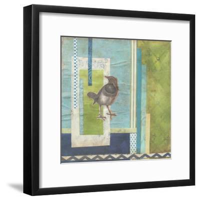 Avian Scrapbook I-Erica J^ Vess-Framed Art Print