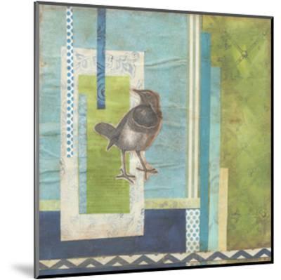 Avian Scrapbook I-Erica J^ Vess-Mounted Art Print