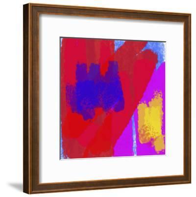Plasma II-Jason Johnson-Framed Art Print