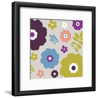 Sweet Floral III-Nicole Ketchum-Framed Art Print