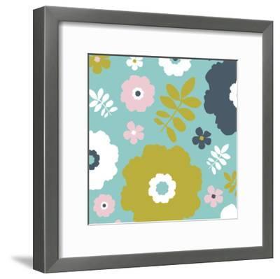 Sweet Floral II-Nicole Ketchum-Framed Art Print