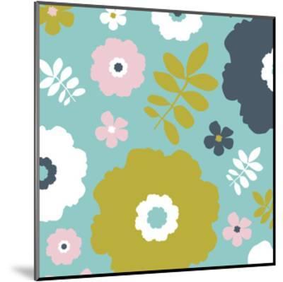 Sweet Floral II-Nicole Ketchum-Mounted Art Print