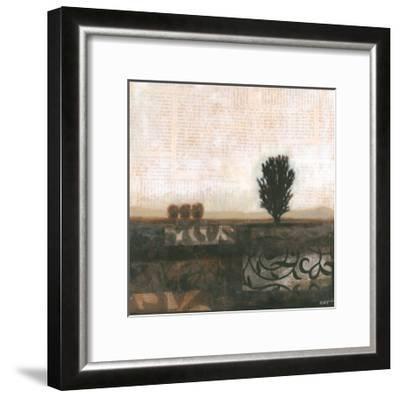 Global Landscape II-Norman Wyatt Jr^-Framed Art Print