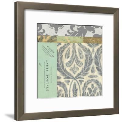 Paris Tapestry V--Framed Art Print