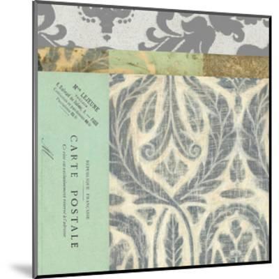 Paris Tapestry V--Mounted Art Print
