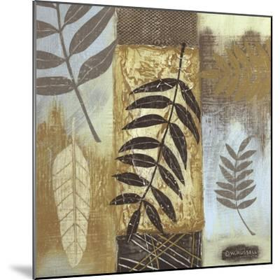 Patterns of Nature I-Wendy Russell-Mounted Art Print