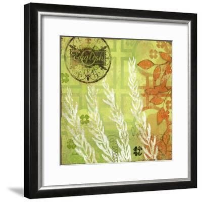 English Tea Garden II-Evelia Designs-Framed Art Print