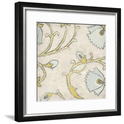 Spa Floral Fresco IV-June Erica Vess-Framed Art Print
