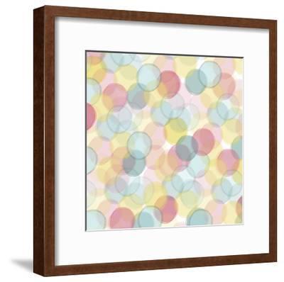 Popping Flowers VI-Ali Benyon-Framed Art Print