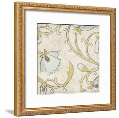 Spa Floral Fresco I-June Erica Vess-Framed Art Print