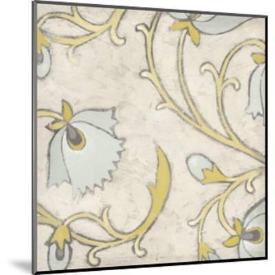 Spa Floral Fresco I-June Erica Vess-Mounted Art Print