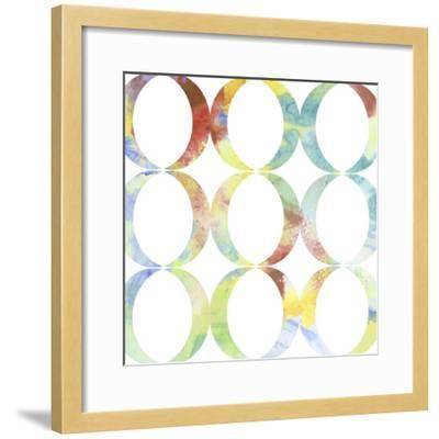 Metric Watercolors V-Jennifer Goldberger-Framed Art Print