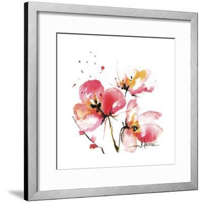Blooms Hermanas IV-Leticia Herrera-Framed Art Print