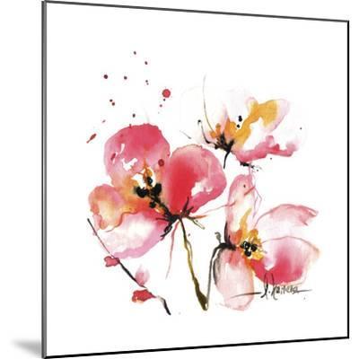 Blooms Hermanas IV-Leticia Herrera-Mounted Art Print