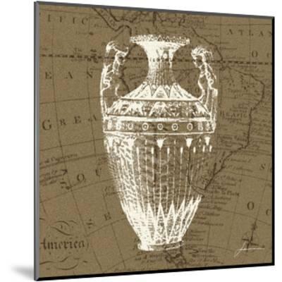 Map Bottles II-James Burghardt-Mounted Art Print