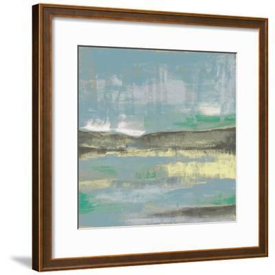 Cool Horizon III-Jennifer Goldberger-Framed Art Print