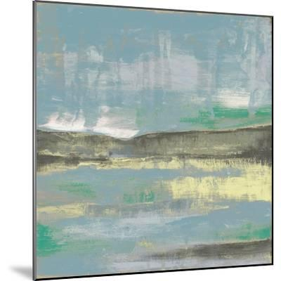 Cool Horizon III-Jennifer Goldberger-Mounted Art Print