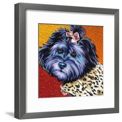 Cute Pups III-Carolee Vitaletti-Framed Art Print