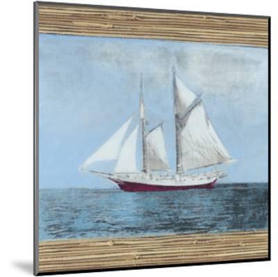 Seagrass Nautical II-Naomi McCavitt-Mounted Art Print