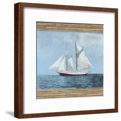Seagrass Nautical II-Naomi McCavitt-Framed Art Print