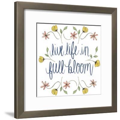Flowers by Grace IV-Grace Popp-Framed Art Print