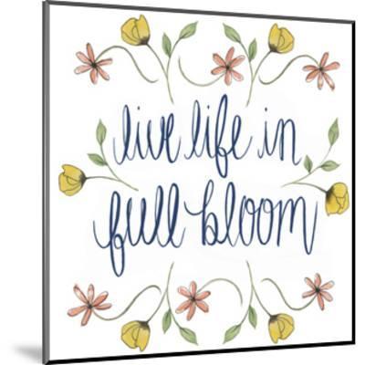 Flowers by Grace IV-Grace Popp-Mounted Art Print