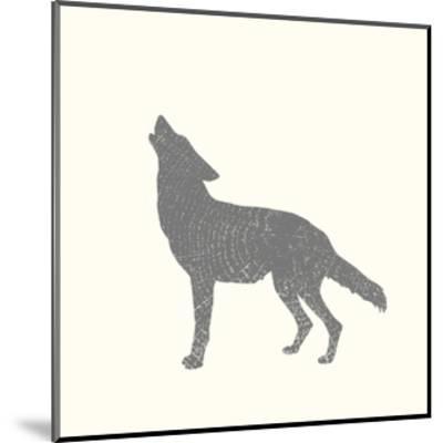 Timber Animals IV-Anna Hambly-Mounted Art Print