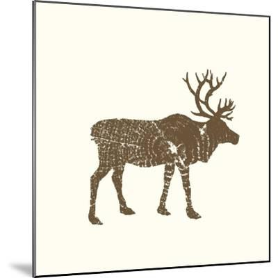Timber Animals I-Anna Hambly-Mounted Art Print