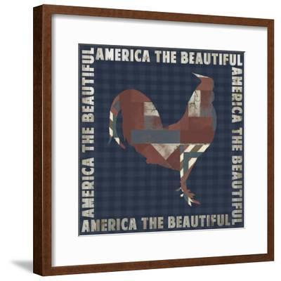 Fourth on the Farm Collection E.-Studio W-Framed Art Print