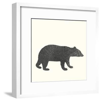 Timber Animals V-Anna Hambly-Framed Art Print