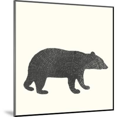 Timber Animals V-Anna Hambly-Mounted Art Print