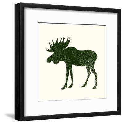 Timber Animals VI-Anna Hambly-Framed Art Print