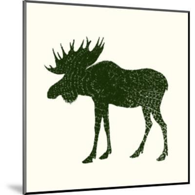 Timber Animals VI-Anna Hambly-Mounted Art Print
