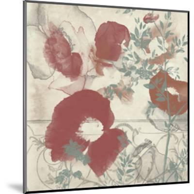 Floral Flutter I-Jennifer Goldberger-Mounted Art Print