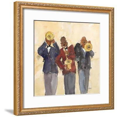 Jazz Trio I-Samuel Dixon-Framed Art Print