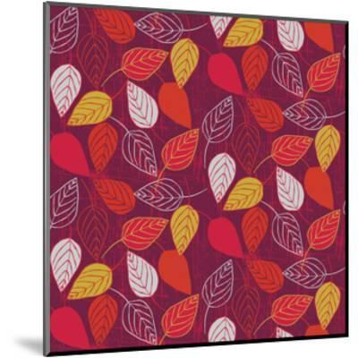 Red Fall VII-Ali Benyon-Mounted Art Print
