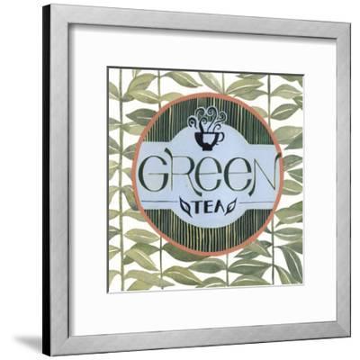 Tea Label III-Grace Popp-Framed Art Print