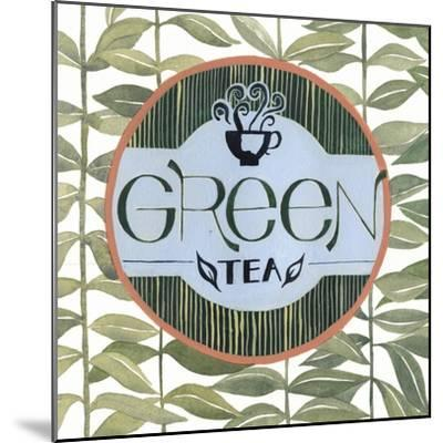 Tea Label III-Grace Popp-Mounted Art Print