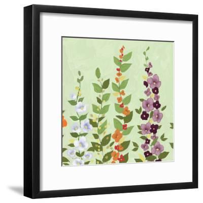 Bright Stems II-Rick Novak-Framed Art Print