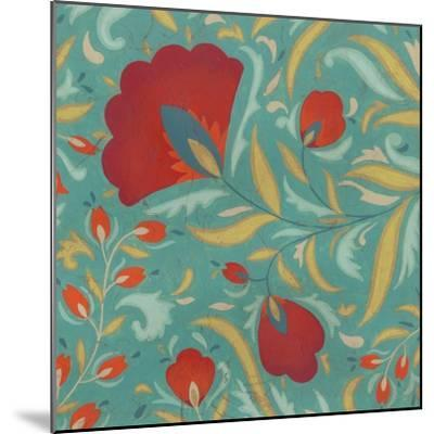 Vibrant Textile I-June Erica Vess-Mounted Art Print