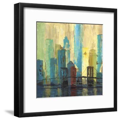 City Connection II-Julie Joy-Framed Art Print