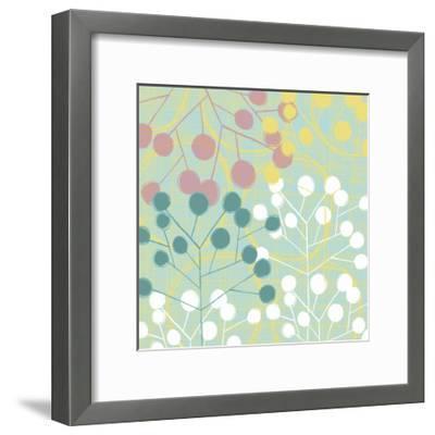 Popping Flowers II-Ali Benyon-Framed Art Print