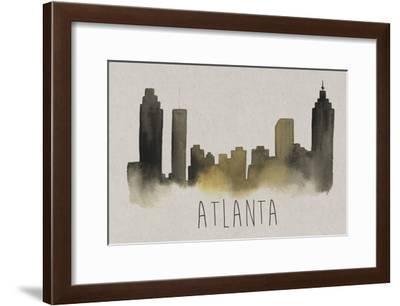 City Silhouettes I-Grace Popp-Framed Art Print