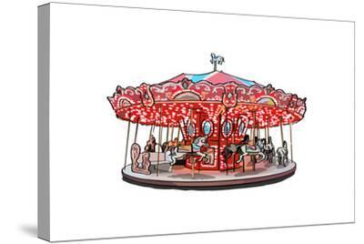 Carousel - Icon-Lantern Press-Stretched Canvas Print