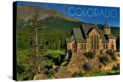 Colorado - St. Malos Chapel-Lantern Press-Stretched Canvas Print