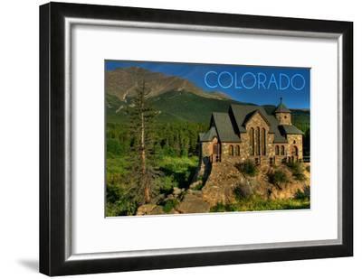 Colorado - St. Malos Chapel-Lantern Press-Framed Art Print