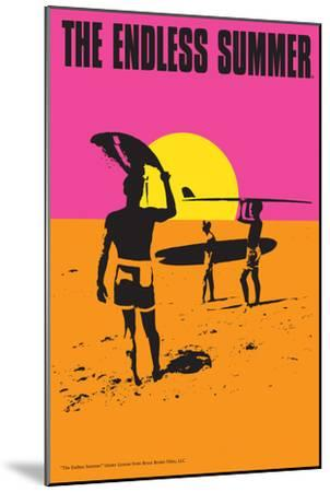 The Endless Summer - Original Movie Poster-Lantern Press-Mounted Premium Giclee Print